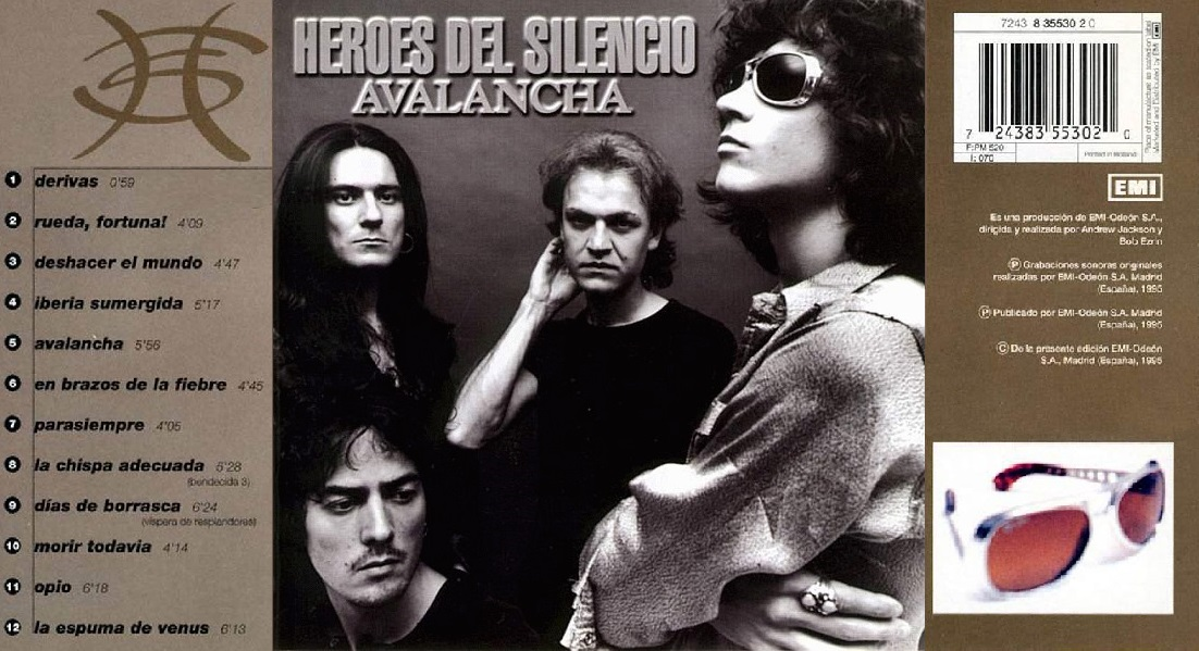 Lanzamiento Avalancha de Héroes Del Silencio - Rock Peperina ...