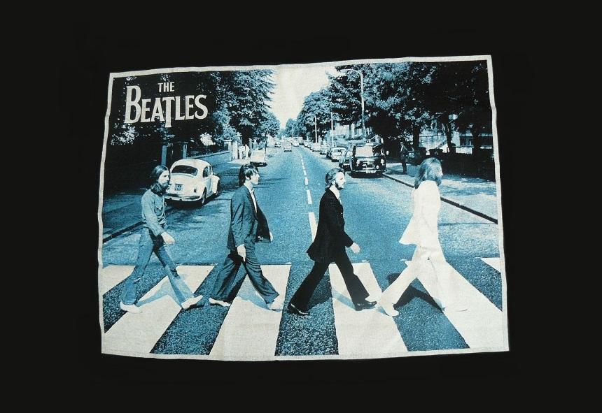 Tshirt Beatles Abbey RoadImagen