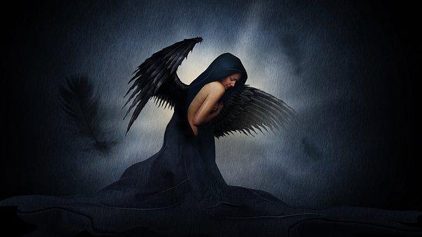 Angel Dark Girl