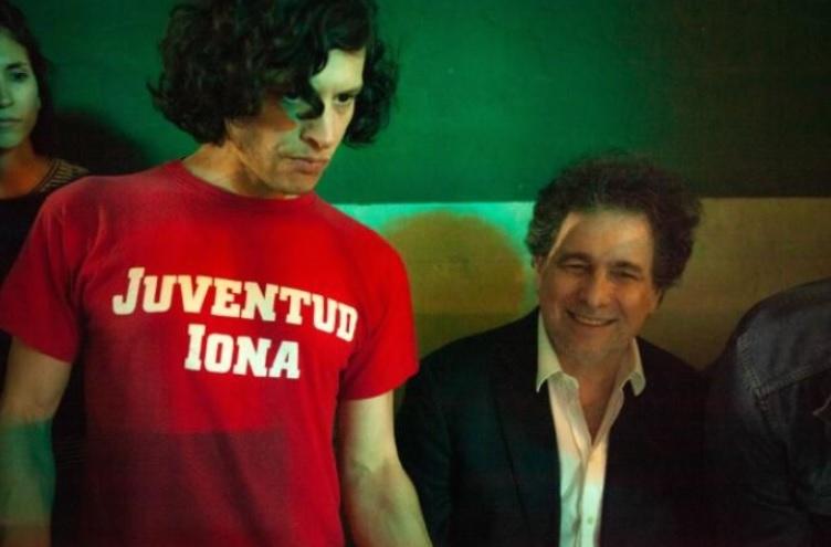 Luis Ortega con Andrés Calamaro